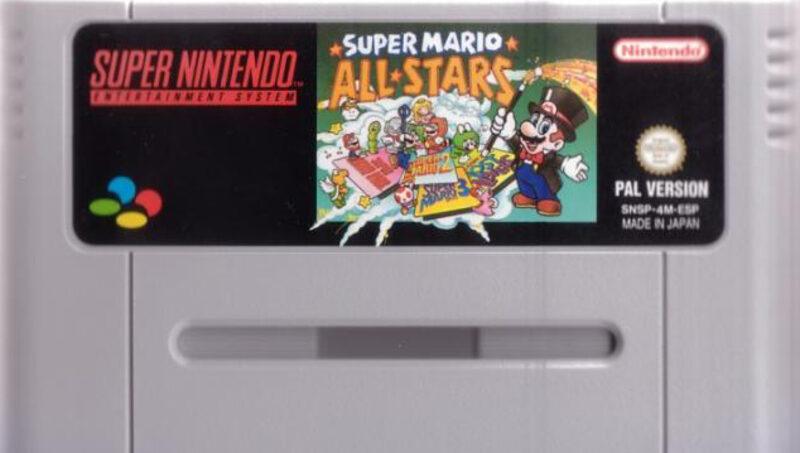 Super Mario All Stars Super Nintendo Bild