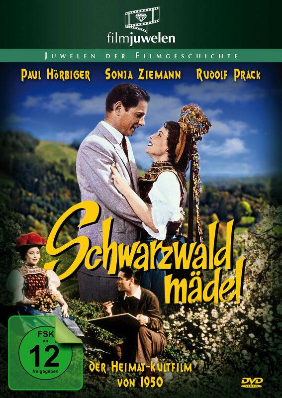 Schwarzwaldmädel - Filmjuwelen DVD Bild