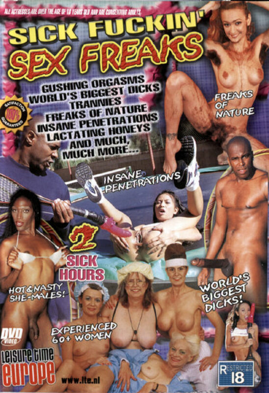 Sick Fuckin' Sex Freaks DVD Bild