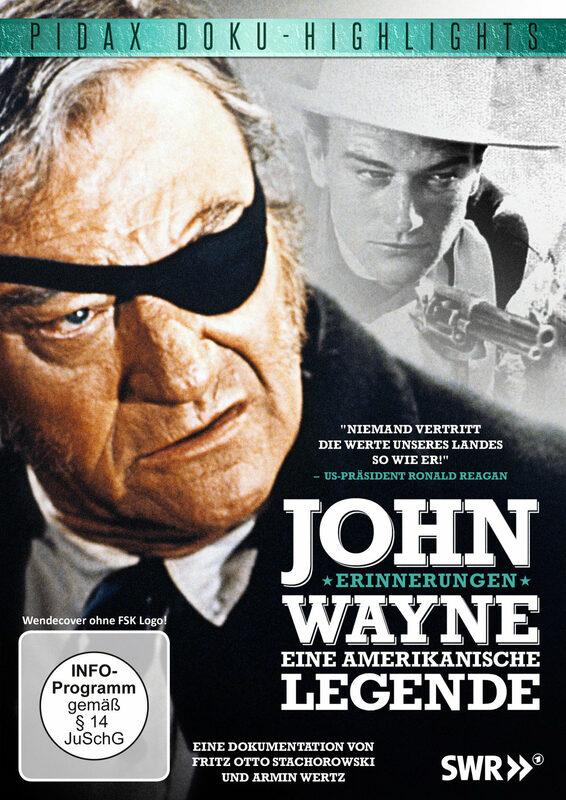John Wayne - Eine amerikanische Legende DVD Bild