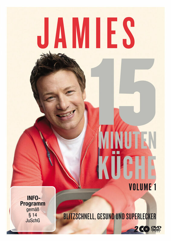 Jamie Oliver - Jamies-15-Min... - Vol. 1 [2DVDs] DVD Bild