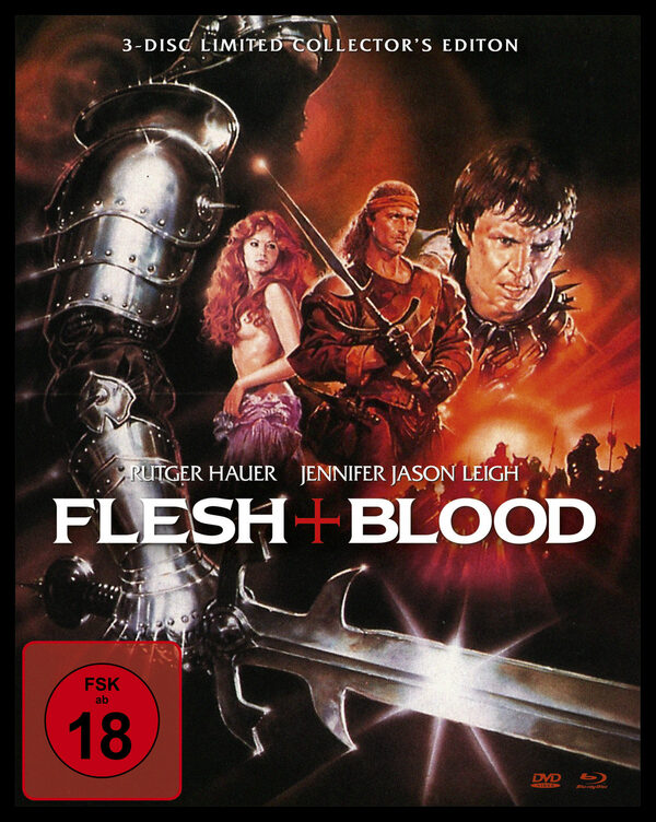 FLESH + BLOOD - UNCUT - MEDIABOOK