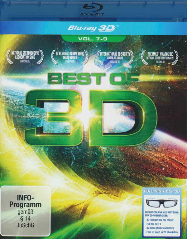 Best of 3D - Vol. 7-9 Blu-ray Bild