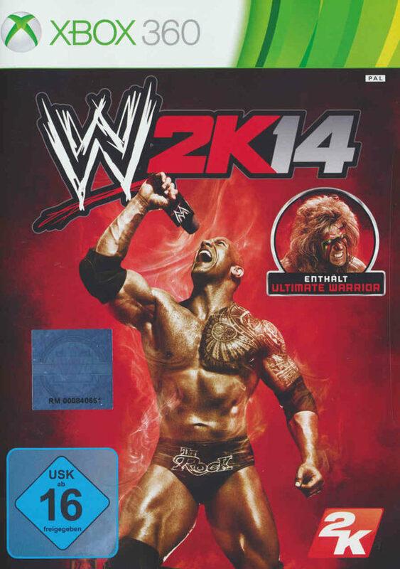 WWE 2K 14 XBox 360 Bild