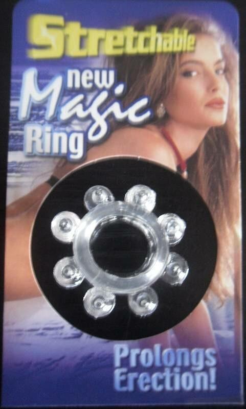 Stretchable New Magic Ring, klar Toys Bild