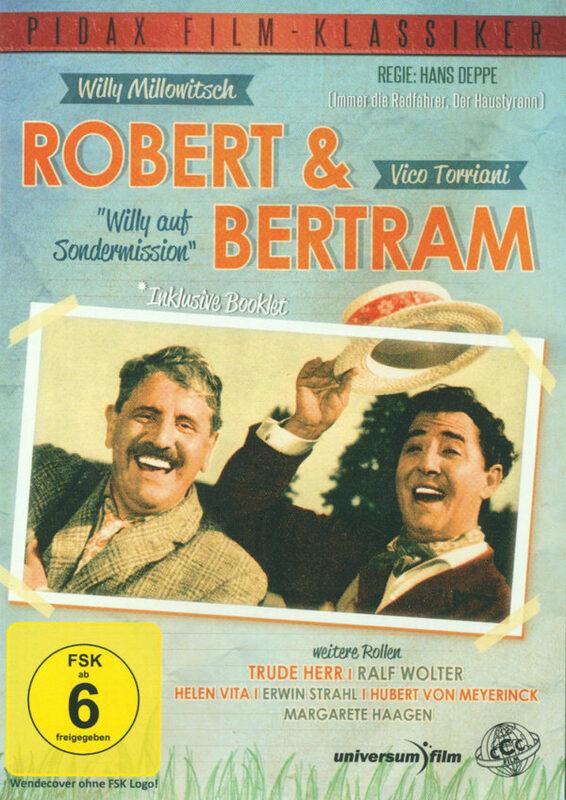 Robert & Bertram - Willy auf Sondermission DVD Bild