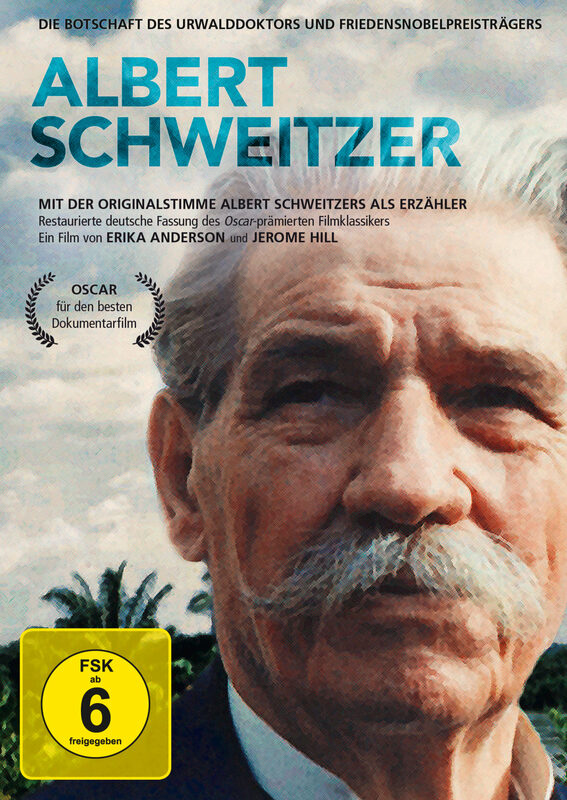 Albert Schweitzer DVD Bild