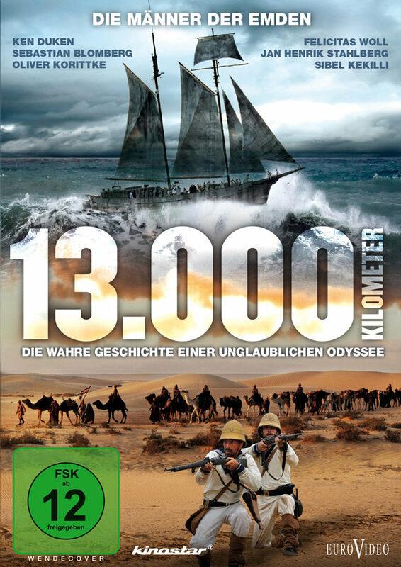 13.000 Kilometer - Die wahre Geschichte einer .. DVD Bild