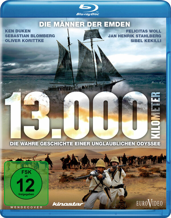 13.000 Kilometer - Die wahre Geschichte einer .. Blu-ray Bild