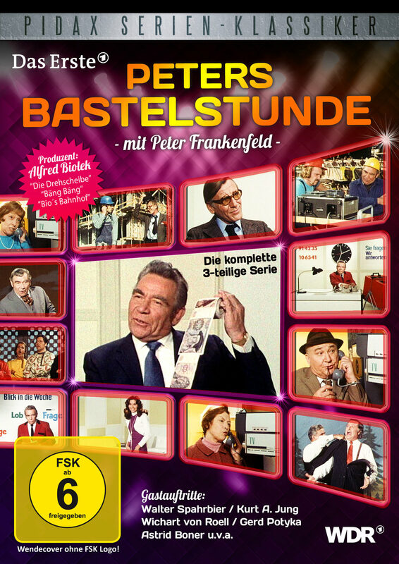 Peters Bastelstunde DVD Bild