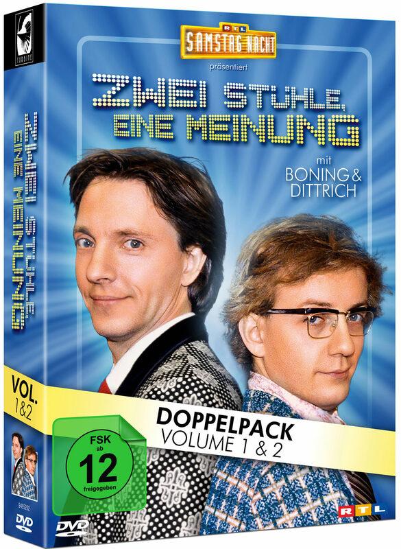 Zwei Stühle, eine Meinung - Vol. 1&2  [2 DVDs] DVD Bild