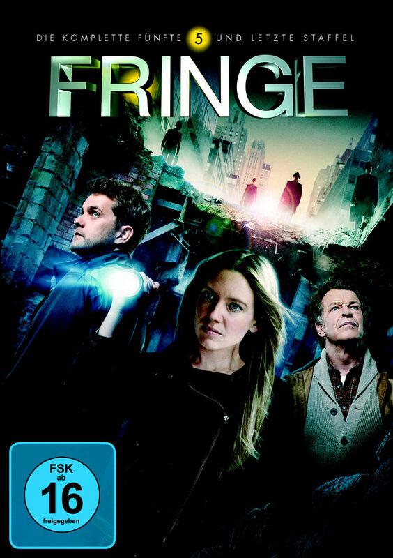 Fringe - Staffel 5  [4 DVDs] DVD Bild