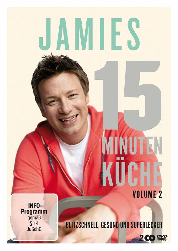 Jamie Oliver - Jamies-15-Minuten..Vol. 2 [2 DVD] DVD Bild