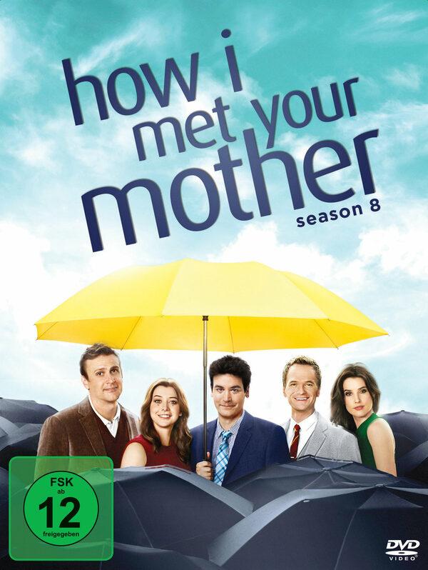 How I met your mother - Season 8  [3 DVDs] DVD Bild