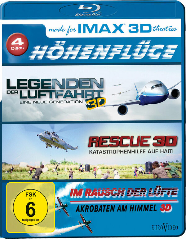 IMAX: Höhenflüge  [4 BR3Ds] Blu-ray Bild