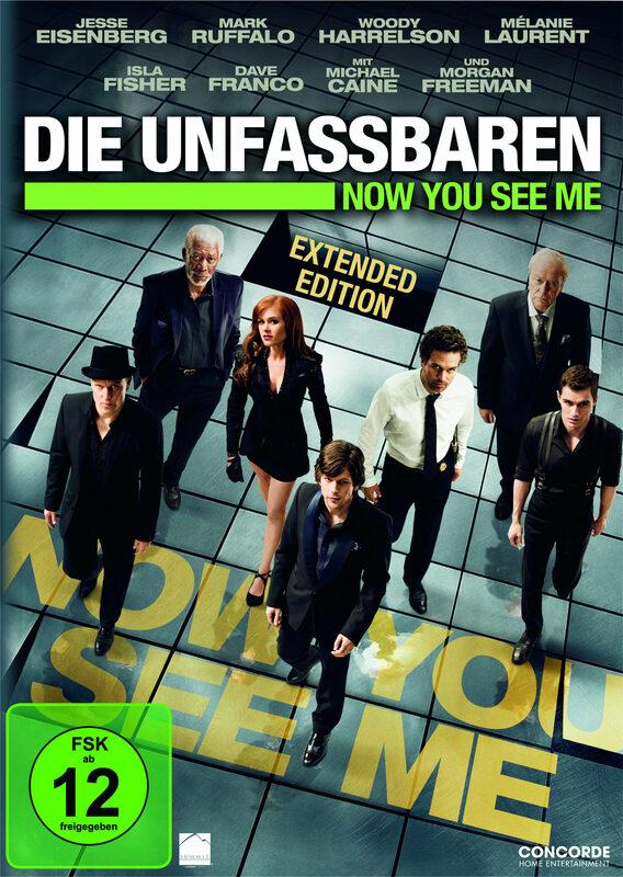 Die Unfassbaren - Now you see me - Ext. Ed. DVD Bild