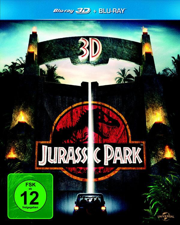 Jurassic Park  (+ BR) Blu-ray Bild