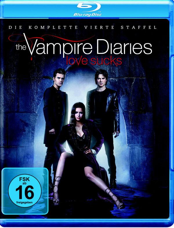 The Vampire Diaries - St. 4  [4 BRs] Blu-ray Bild