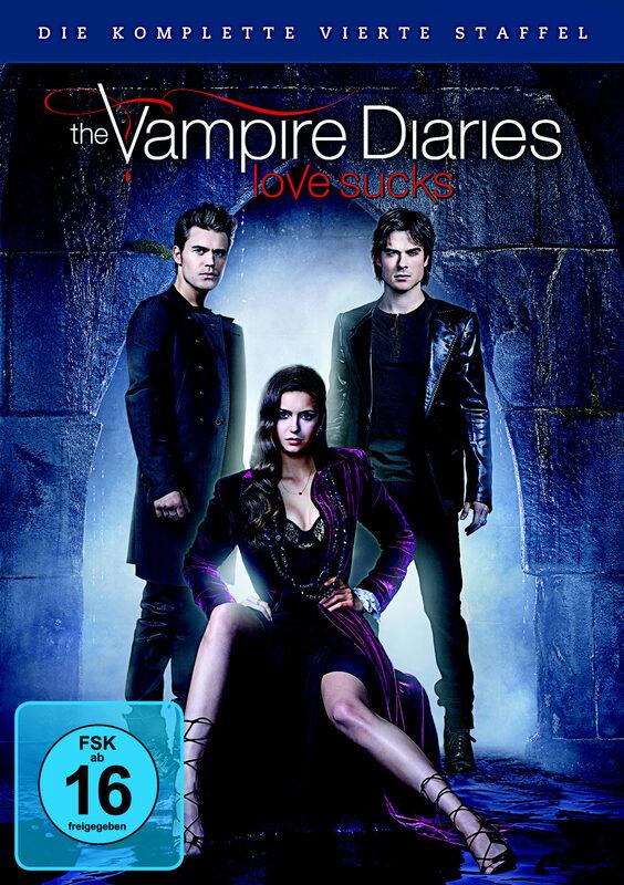 The Vampire Diaries - St. 4  [5 DVDs] DVD Bild