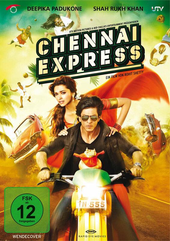 Chennai Express DVD Bild
