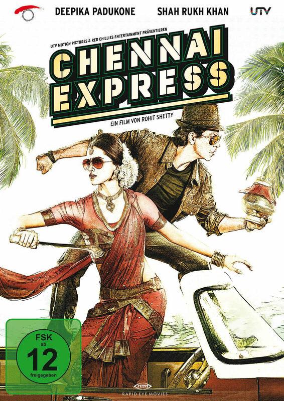 Chennai Express  [SE] [2 DVDs] DVD Bild