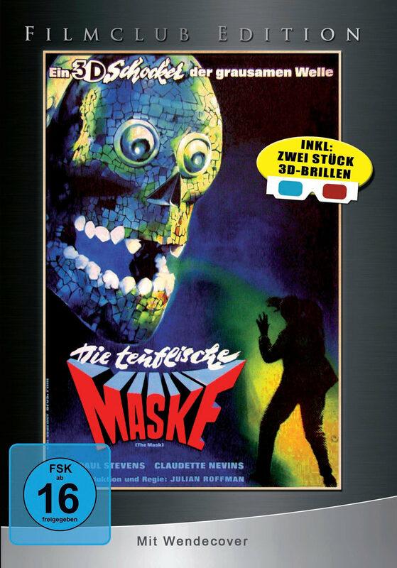Die teuflische Maske 3D  [LE] (+ 2 3D-Brillen) DVD Bild