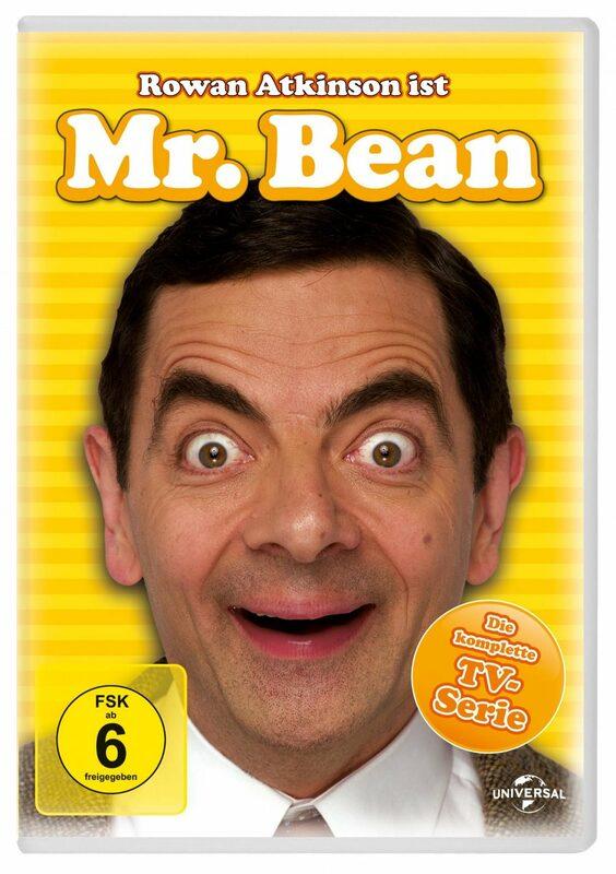 Mr. Bean - Die komplette TV-Serie  [3 DVDs] DVD Bild