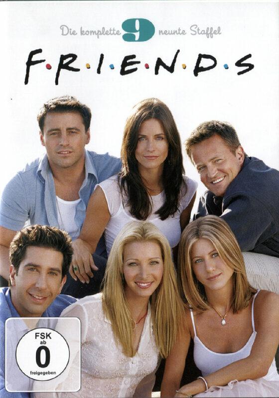 Friends -  Box Set / Staffel 9  [4 DVDs] DVD Bild