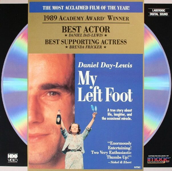 My Left Foot - Laserdisc US Laserdisk Bild