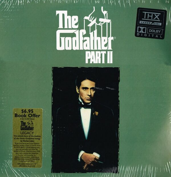 The Godfather - Laserdisc US Laserdisk Bild