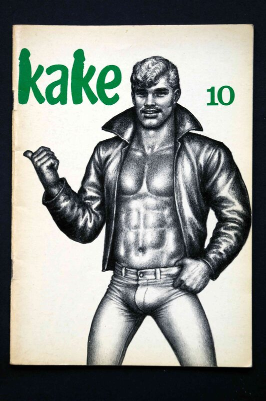 Tom of Finland - Kake 10 Magazin Bild