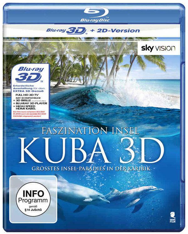 Faszination Insel - Kuba  (inkl. 2D-Version) Blu-ray Bild