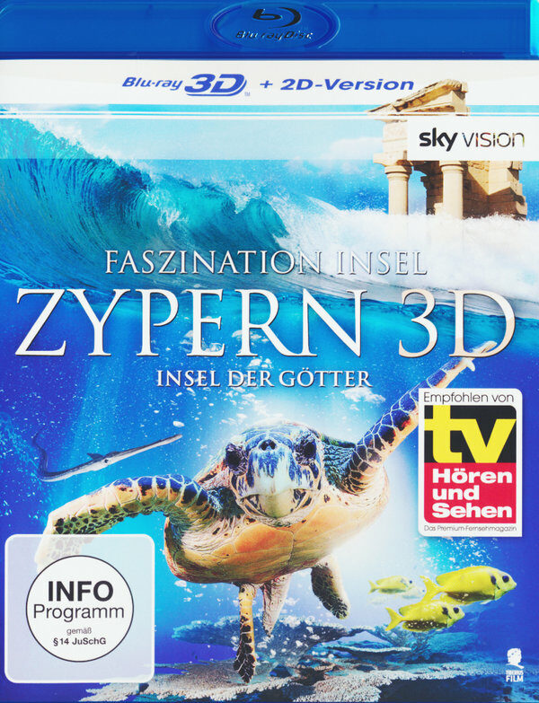 Faszination Insel - Zypern  (inkl. 2D-Version) Blu-ray Bild