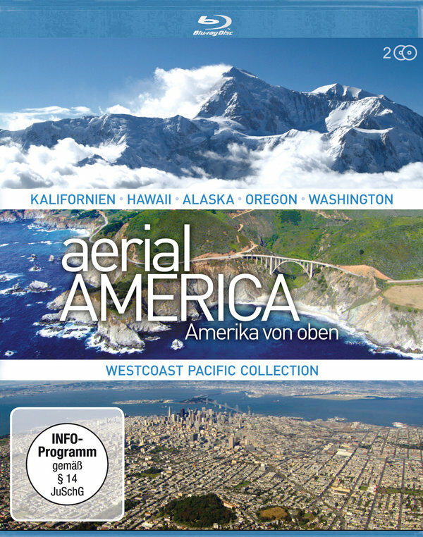 Aerial America - Amerika von Oben - Westcoast... Blu-ray Bild