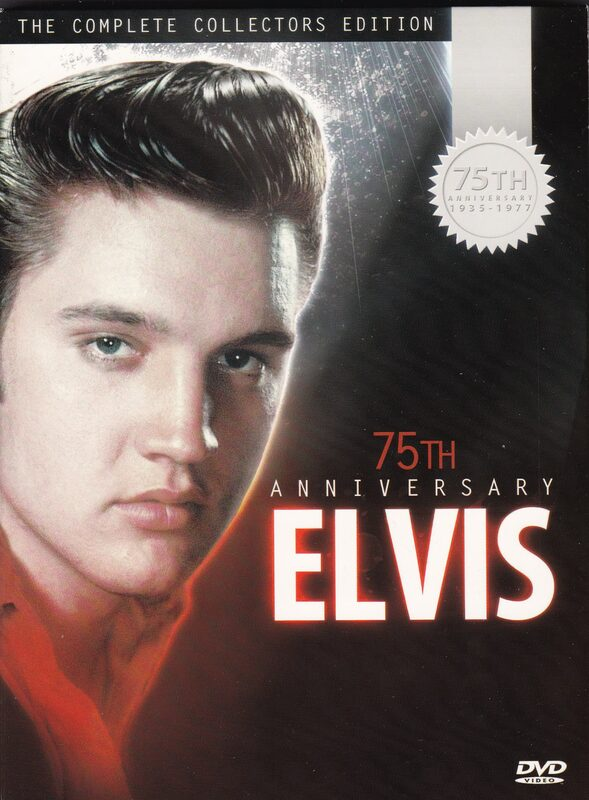 75th Anniversary Elvis - The Complete Collectors Edition (5DVDs + 1 CD) DVD Bild