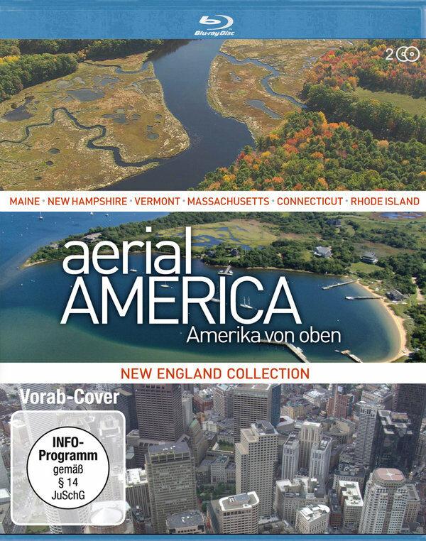 Aerial America - Amerika von Oben...  [2 BRs] Blu-ray Bild