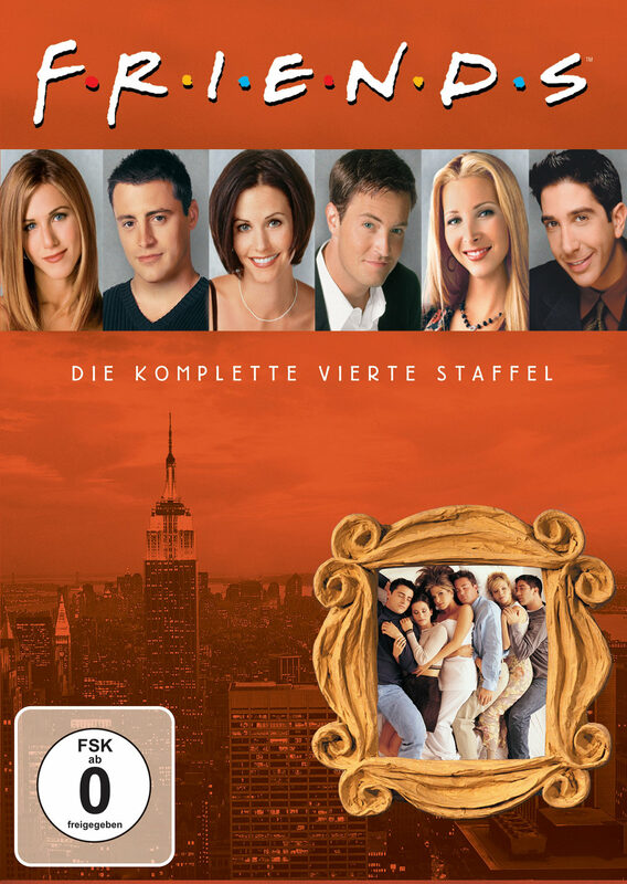 Friends - Box Set / Staffel 4  [4 DVDs] DVD Bild