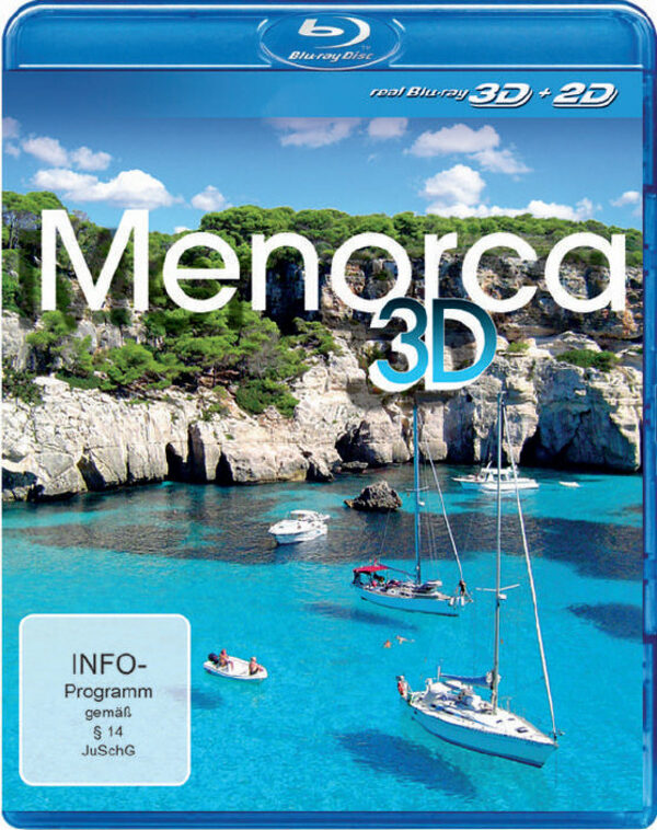 Menorca 3D  (inkl. 2D-Version) Blu-ray Bild