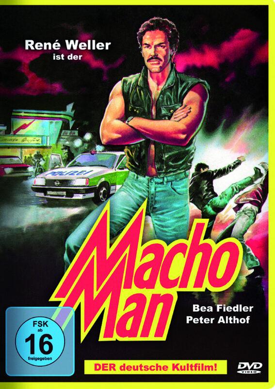 Macho Man DVD Bild