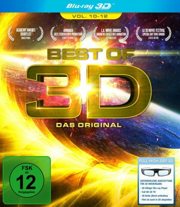 Best of 3D - Vol. 10-12 Blu-ray Bild
