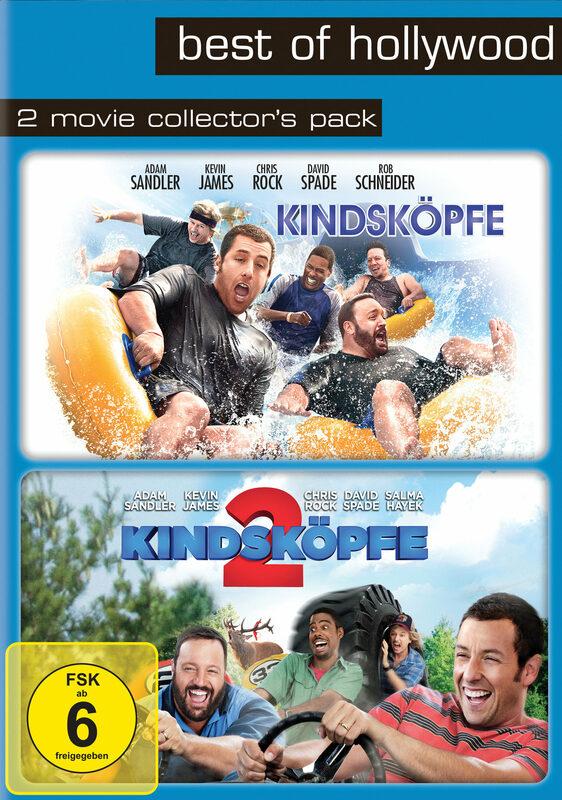 Best of Hollywood - 2 Movie Collector's Pack: Kindsköpfe / Kindsköpfe 2 (2 Discs) DVD Bild