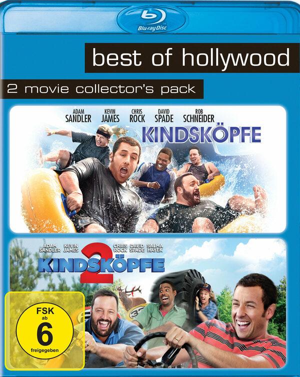 Best of Hollywood - 2 Movie Collector's Pack: Kindsköpfe / Kindsköpfe 2 (2 Discs) Blu-ray Bild