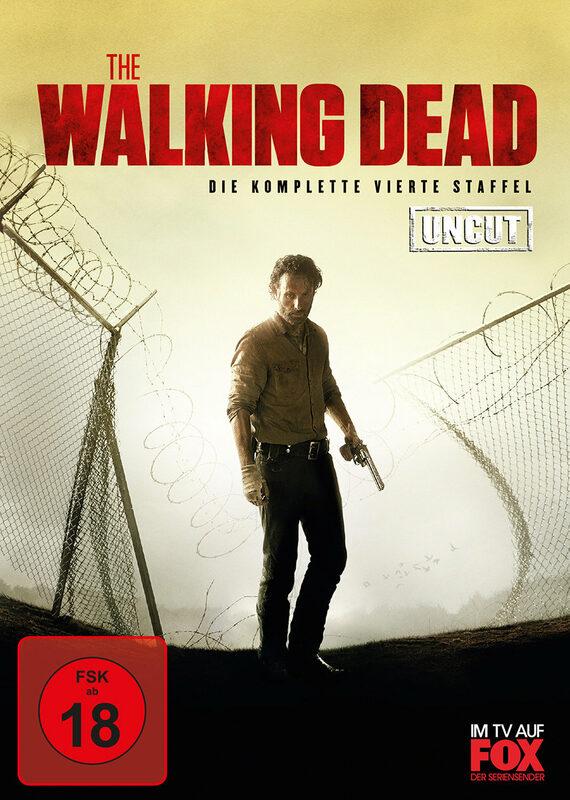 The Walking Dead - St. 4 - Uncut  [5 DVDs] DVD Bild