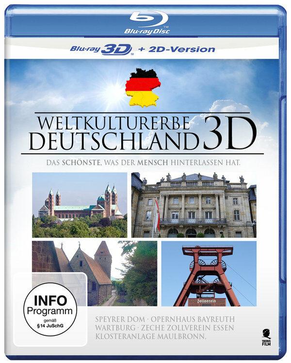 Weltkulturerbe Deutschland  (inkl. 2D-Version) Blu-ray Bild