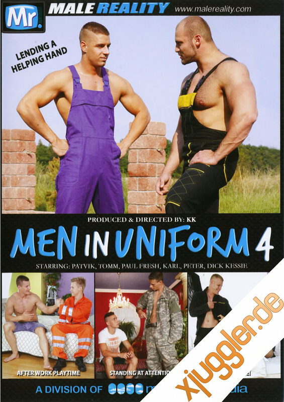 Men In Uniform 4 Gay DVD Bild