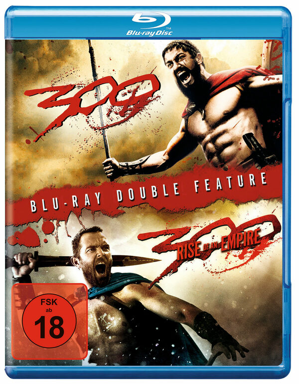 300 & 300 - Rise of an Empire Blu-ray Bild