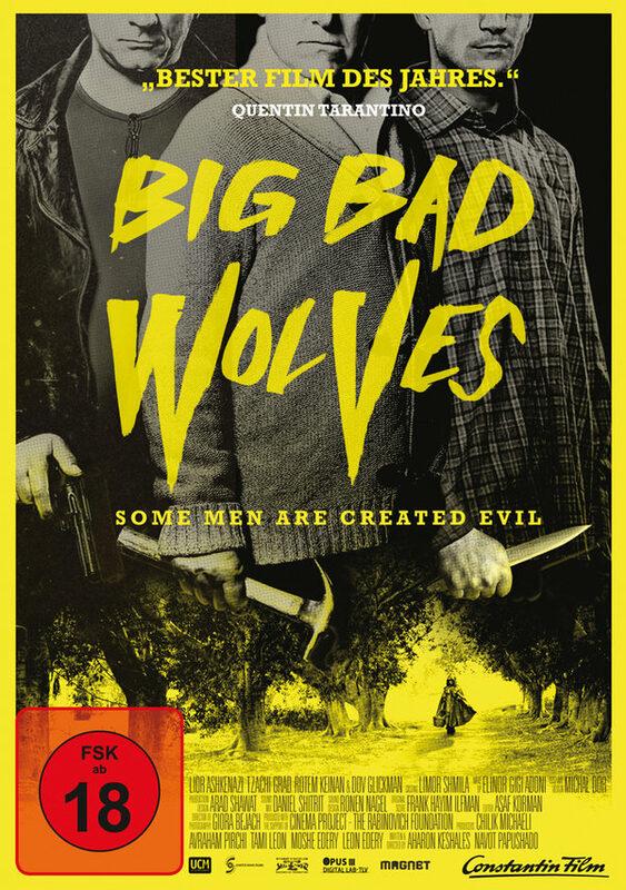 Big Bad Wolves DVD Bild