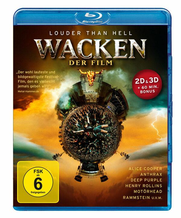 Wacken - Der Film  (inkl. 2D-Version) Blu-ray Bild