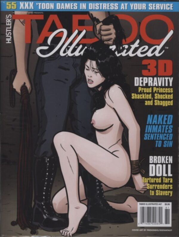 Taboo Illustrated 47 Comic Bild