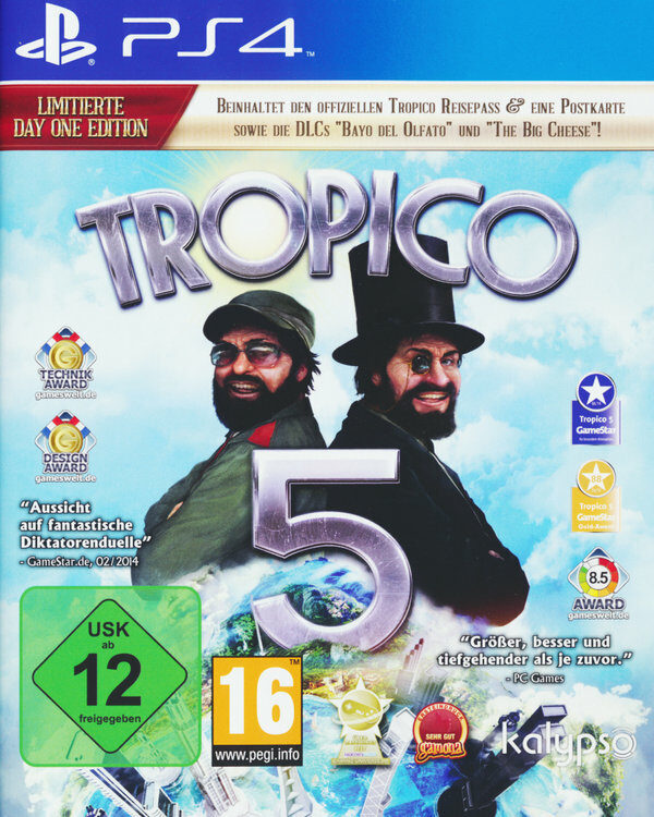 Tropico 5 - Day One Edition Playstation 4 Bild